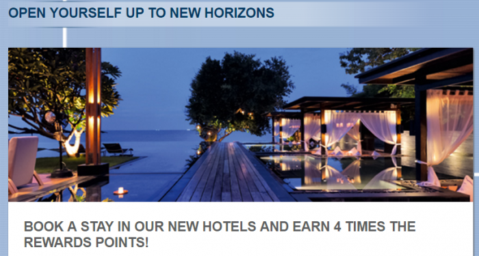 Le Club AccorHotels Select New Hotels Quadruple Points April 12 - June 30, 2017