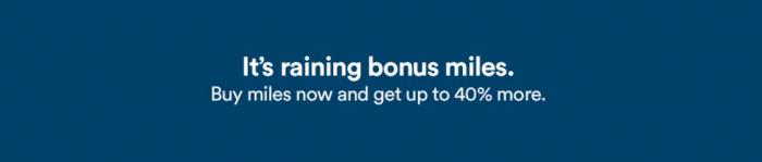 Alaska Airlines Buy MileagePlan Miles At Up To 40 Percent Bonus May 15 - July 1 2017
