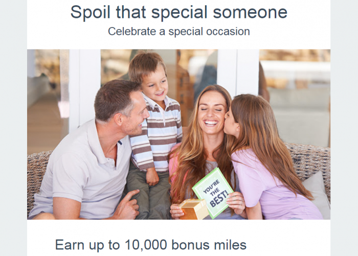 American Airlines AAdvantage Up To 10,000 Bonus Miles Promo 2017