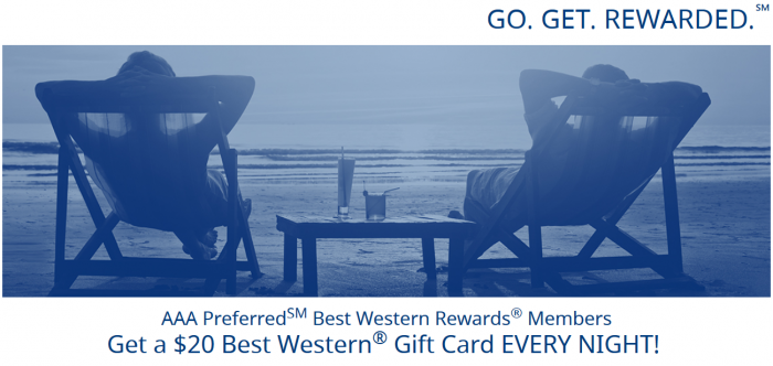 Best Western Rewards Summer 2017 Promotion May 22 - September 4 2017 AAA