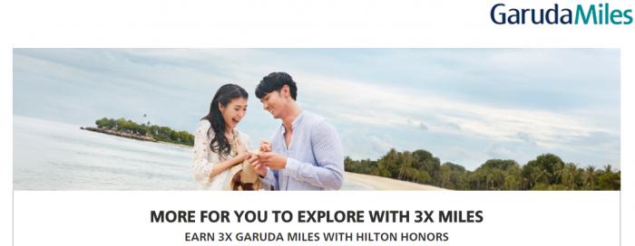 Hilton Honors Garuda Indonesia Up To Triple Garuda Miles May 1 - July 31 2017