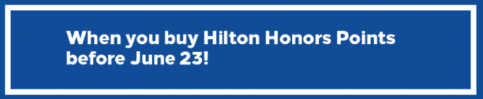 Hilton Honors Up To 50 Percent Off Sale May 25 - June 23 2017
