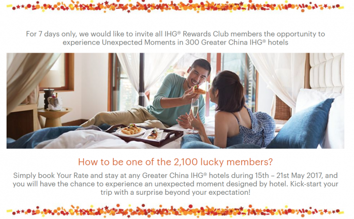 IHG Rewards Club Your Rate Greater China