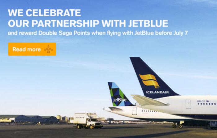 Icelandair JetBlue