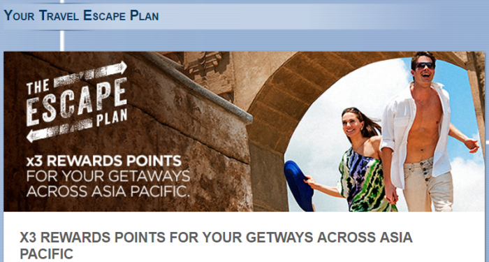 Le Club AccorHotels Asia-Pacific Triple Points June 10 - September 10 2017