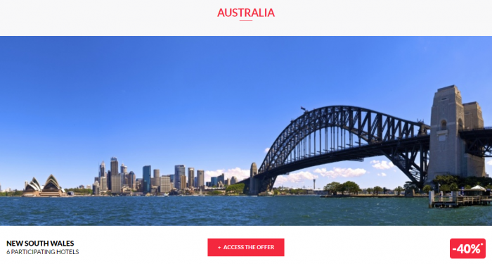 Le Club AccorHotels Private Sales May 10 2017 Australia 1