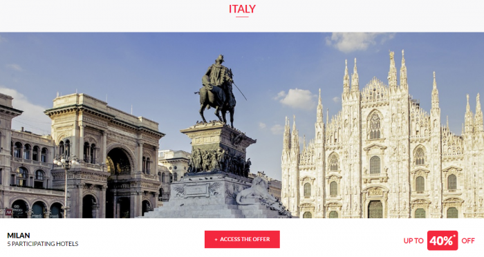 Le Club AccorHotels Private Sales May 10 2017 Italy 1