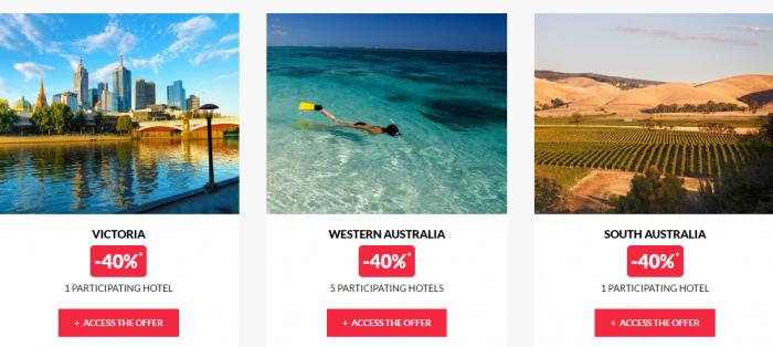 Le Club AccorHotels Private Sales May 17 Australia 2