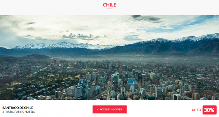 Le Club AccorHotels Private Sales May 17 Chile 1
