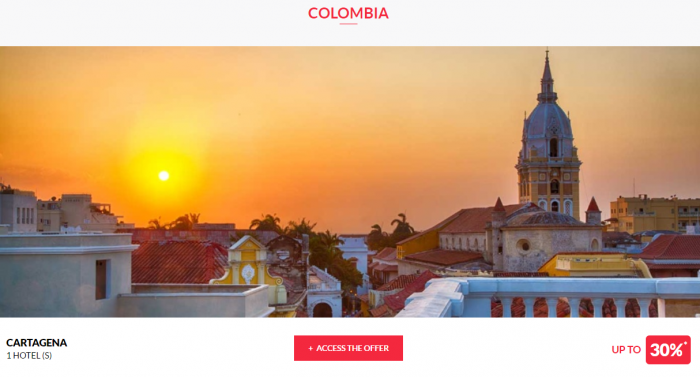 Le Club AccorHotels Private Sales May 17 Colombia 1