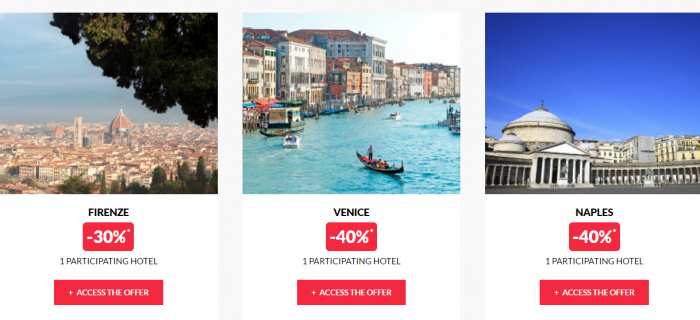 Le Club AccorHotels Private Sales May 17 Italy 2