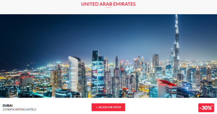 Le Club AccorHotels Private Sales May 17 UAE 1