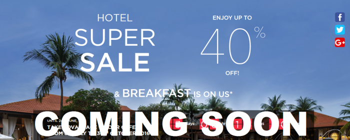 Le Club AccorHotels Super Sale Coming Soon