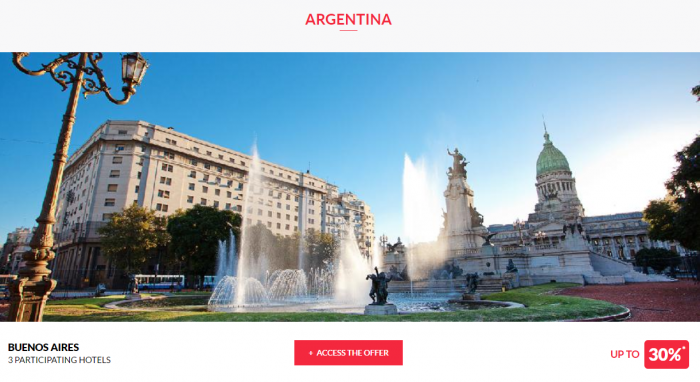 Le Club AccorHotels Worldwide Private Sales May 24 2017 Argentina 1