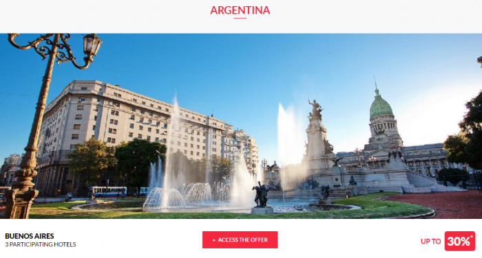 Le Club AccorHotels Worldwide Private Sales May 3 2017 Argentina 1