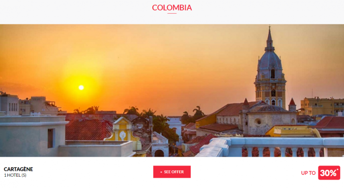 Le Club AccorHotels Worldwide Private Sales May 3 2017 Colombia 1