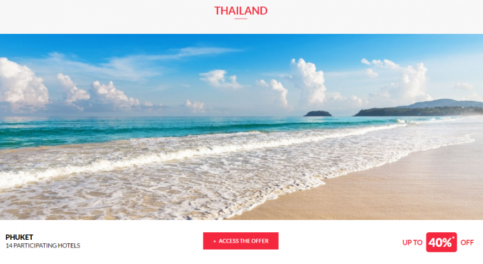 Le Club AccorHotels Worldwide Private Sales May 3 2017 Thailand 1