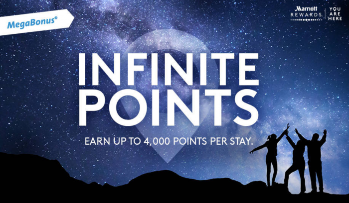 Marriott Rewards Infinite Points MegaBonus May 27 - September 4 2017