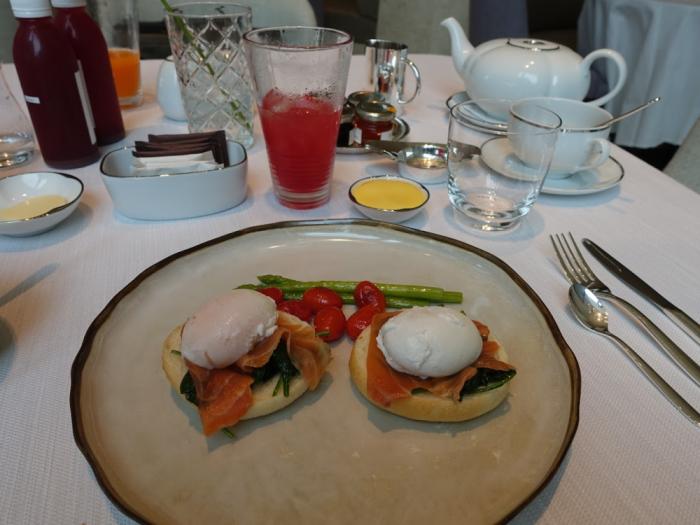Park Hyatt Bangkok - Breakfast - Eggs Benedict