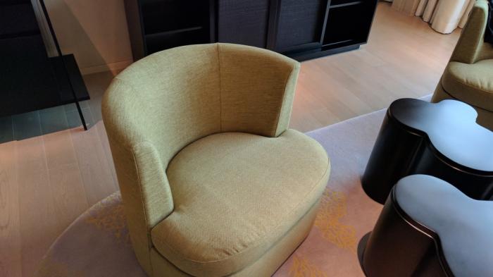 Park Hyatt Bangkok - Executive Suite 1616 - Living Room Chair