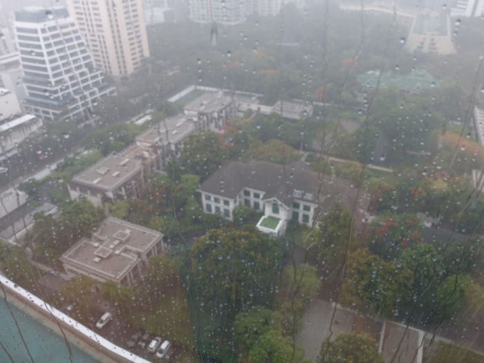 Park Hyatt Bangkok - Executive Suite 1616 - Rainy View