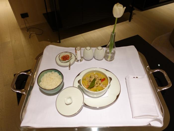 Park Hyatt Bangkok - Executive Suite 1616 - Room Service Order