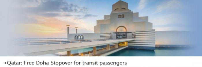 Qatar Airways Free Doha Stopover