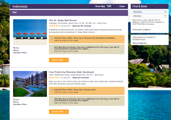 SPG Malaysia, Indonesia, Singapore & Maldives Up To 35 Percent Off Sale May 2017 Search