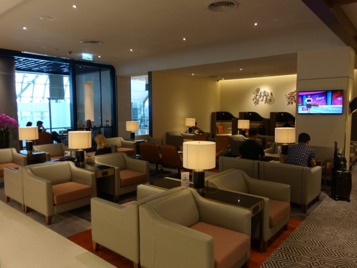 Singapore Airlines New SilverKris Lounge Suvarnabhumi Airport Chairs