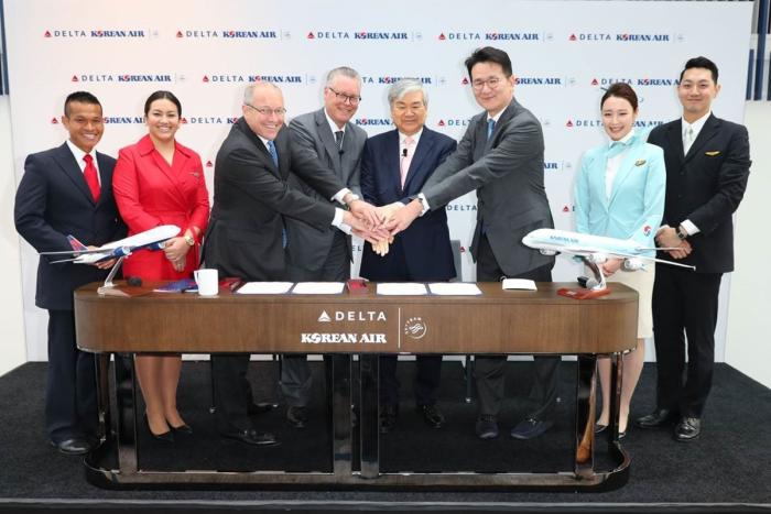 Delta and Korean Air JV
