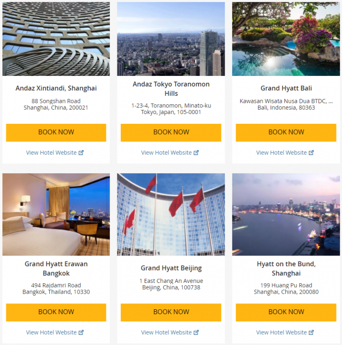 Hyatt Asia-Pacific Up To 25 Percent Off July 1 - September 3 2017 1