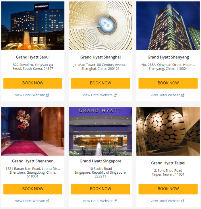 Hyatt Asia-Pacific Up To 25 Percent Off July 1 - September 3 2017 4