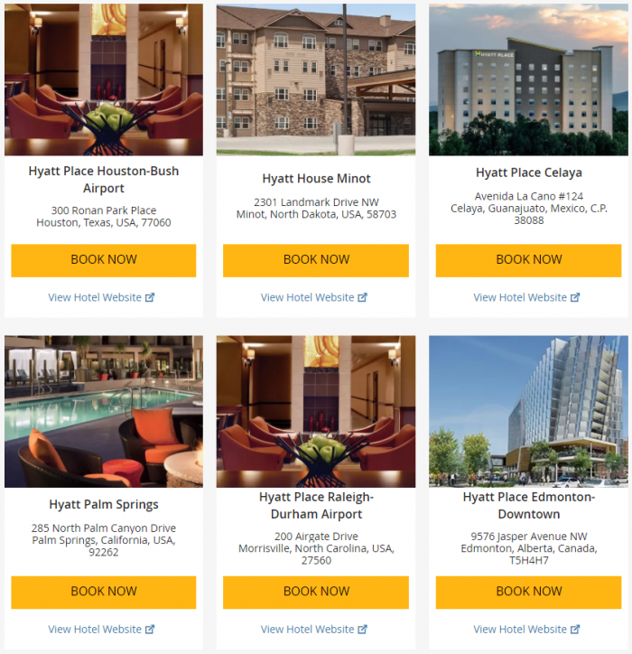 Hyatt Weekend Getaway Deals June 22 - 25 2017 2