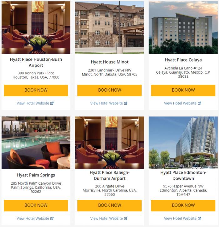 Hyatt Weekend Getaway Deals June 22 - 25 2017 2