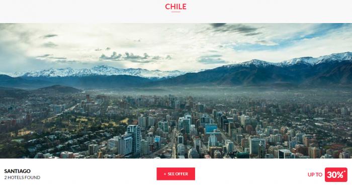 Le CLub AccorHotels Private Sales June 14 2017 Chile 1