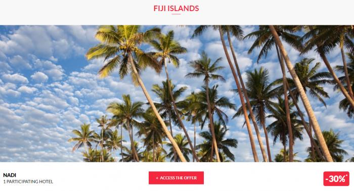 Le CLub AccorHotels Private Sales June 14 2017 Fiji 1
