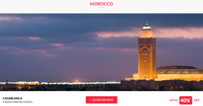 Le CLub AccorHotels Private Sales June 14 2017 Morocco 1