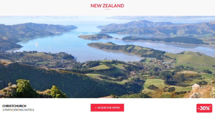 Le CLub AccorHotels Private Sales June 14 2017 New Zealand 1