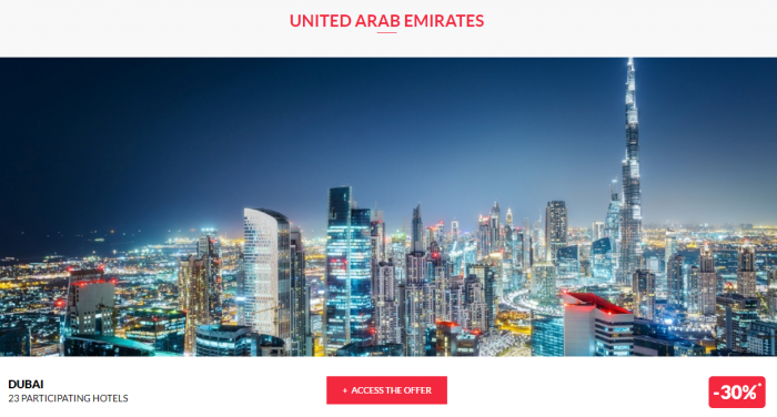 Le CLub AccorHotels Private Sales June 14 2017 UAE 1
