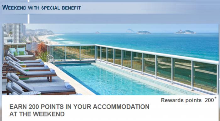 Le Club AccorHotels 200 Bonus Points Select SA Hotels June 5 - August 31 2017