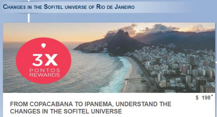 Le Club AccorHotels Triple Points Rio De Janeiro