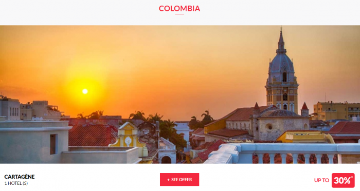 Le Club AccorHotels Worldwide Private Sales June 21 2017 Colombia 1