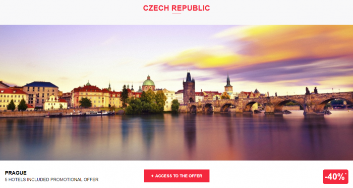 Le Le Club AccorHotels Worldwide Private Sale Czech Republic 1