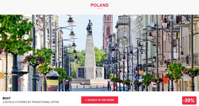 Le Le Club AccorHotels Worldwide Private Sale Poland 1
