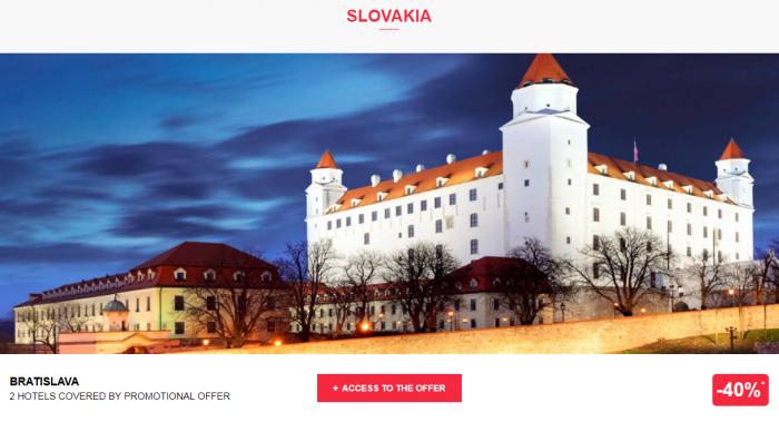 Le Le Club AccorHotels Worldwide Private Sale Slovakia 1