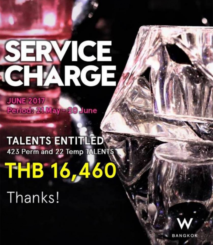 TH Service Charge BKK