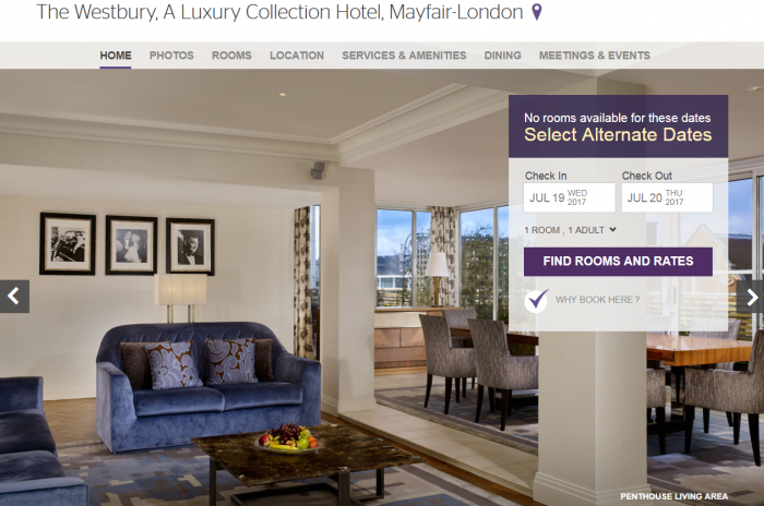 The Westbury, A Luxury Collection Hotel, Mayfair-London Main