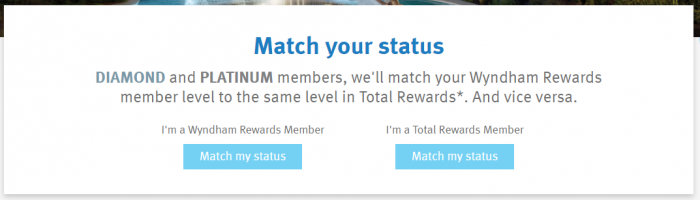 Wyndham Rewards - Caesars Entertainment Total Rewards Match