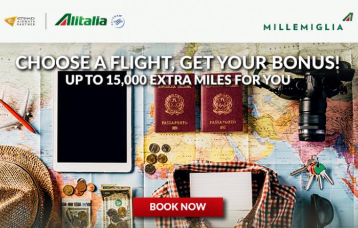 Alitalia MilleMiglia Bonus Miles