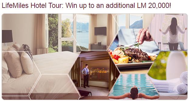 Avianca LifeMiles Hotel Tour 20,000 Bonus